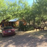 Casita with easy parking. No need for 4 wheel drive.