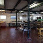 Nieuwveen, Riga Ranch, keuken en plaats voor de workshop