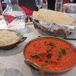 Excellent indian food.