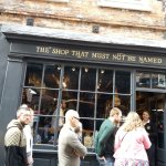 very busy Harry Potter shop