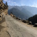 view after crossing kalpa for a drive
