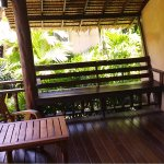 Terrace at Tropical Family Cottage