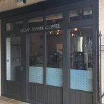 We are just about the smallest coffee roastery in the UK. We also serve coffee!