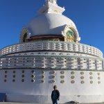 a view of Stupa