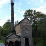 Leawood Pump House on a steam day