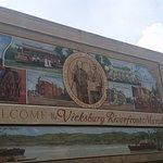 Photo of Vicksburg Riverfront Murals
