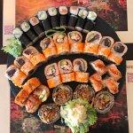 Sushi darf niemals fehlen