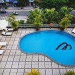 Swimming pool on 3th floor