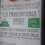 La Prosciutteria Firenze Foto