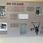 George Washington Carver was born into slavery