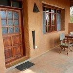 Simba entrance and balcony.