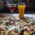 сытная пицца+вишнёвочка=Сытый кум бар Брест, Пушкинская 1
