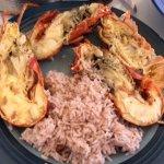 Lobster dinner we reserved for lunch