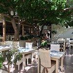 Restaurant et sa terrasse