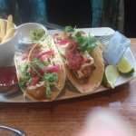 Fish tacos and Frose!