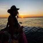 Jimbaran Sunset on Akua kayak followed by amazing dinner! 5 star