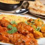 Chicken Tikka Madras with Pulau Rice
