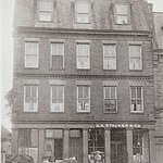 The hotel as a family home and business in the early 1900's