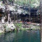 Cenote at Ek Balam