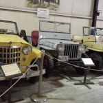 Several Jeeps on display