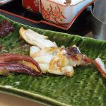 salt-grilled squid tentacles