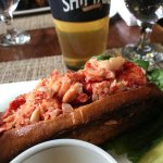 Hot lobster roll!