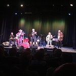 Hank Wangford & the Lost Cowboys gig closing out the Bridport Hat Festival