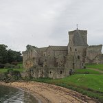 Inchcolm Abbey from south east