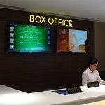 Box office movie in cineplex 21 of park 23