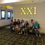 Cineplex 21 waiting area