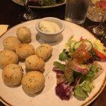 Garlic dough balls