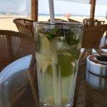 Mojito in der Strandbar