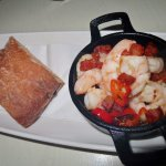 Prawn and chilli starter
