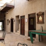 courtyard and reception