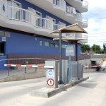Parking Augustus, vigilado las 24h con una capacidad de 450 plazas(de pago)