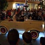 Desfile 15 aniversario, por la noche