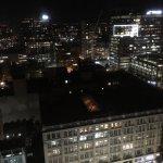 Blick aus dem 26. Stock