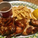 The Harvester 83 combo meal