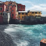 Boccadasse beach area