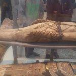 Momia en la sala Egipcia