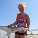 10 year olds first shark!