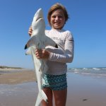 8 Year Old, Caught her Own Black Tip