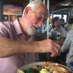My Granddad always has the crab