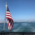 Taking the ferry over to Coronado Island for our Segway Tour