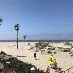 Beautiful beach near Hotel Del Coronado