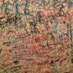 graffiti in the women's bathroom