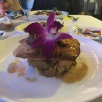 Local red snapper - delicious!