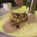 Yummy cheesecake!