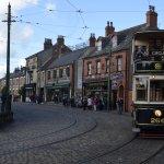 Town tram stop