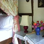 Fresh flowers everywhere and wild flowers in all of the rooms
